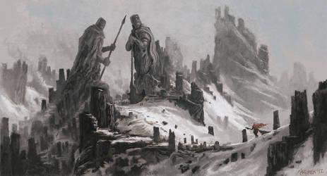 The hunter returns OLD by NilfheimSan
