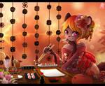 CM: +Cafe Sushi+ by Shide-Dy