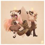 +Cafflina and Cofflin+ by Shide-Dy