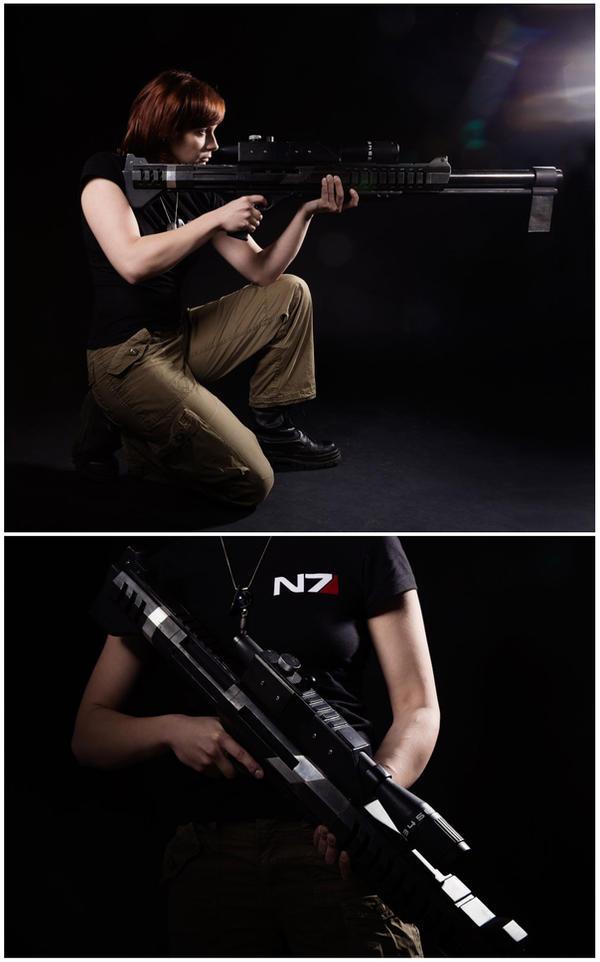 Mass Effect M-98 Black Widow by Arashi-no-Tori