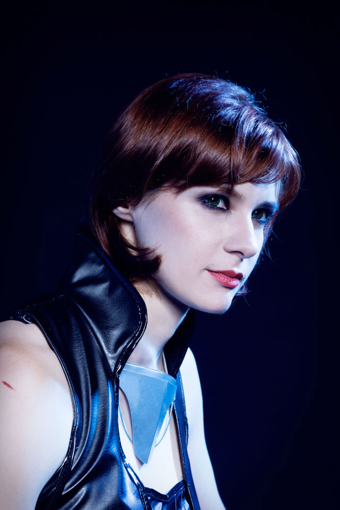 Mass Effect 3 - FemShep portrait by Arashi-no-Tori