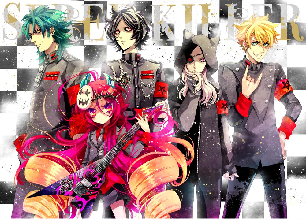 Members of SPREE KILLER by nakiringo