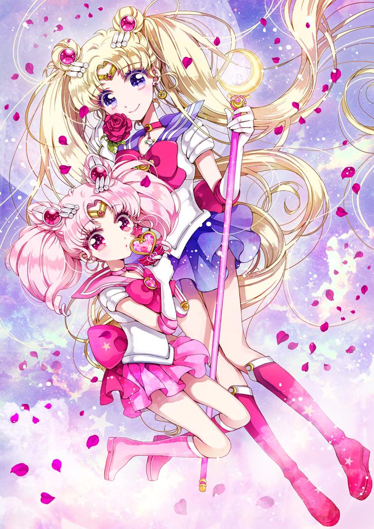 Sailor moon by nakiringo