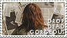 Drop Dead, Gorgeous stamp 2 by sequelle