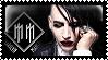 Marilyn Manson stamp by sequelle