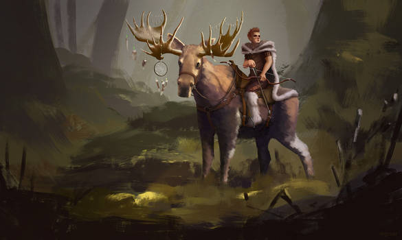 Moose Rider