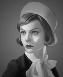 Portrait of Viktoriya Sasonkina