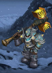 Dwarf Paladin WoW Character by MgcUsr