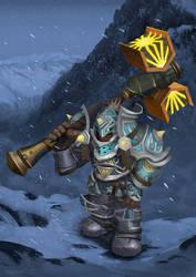 Dwarf Paladin WoW Character
