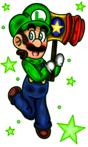 .:Luigi And The Squeaky Mallet:. by Cookie-Luiginoid