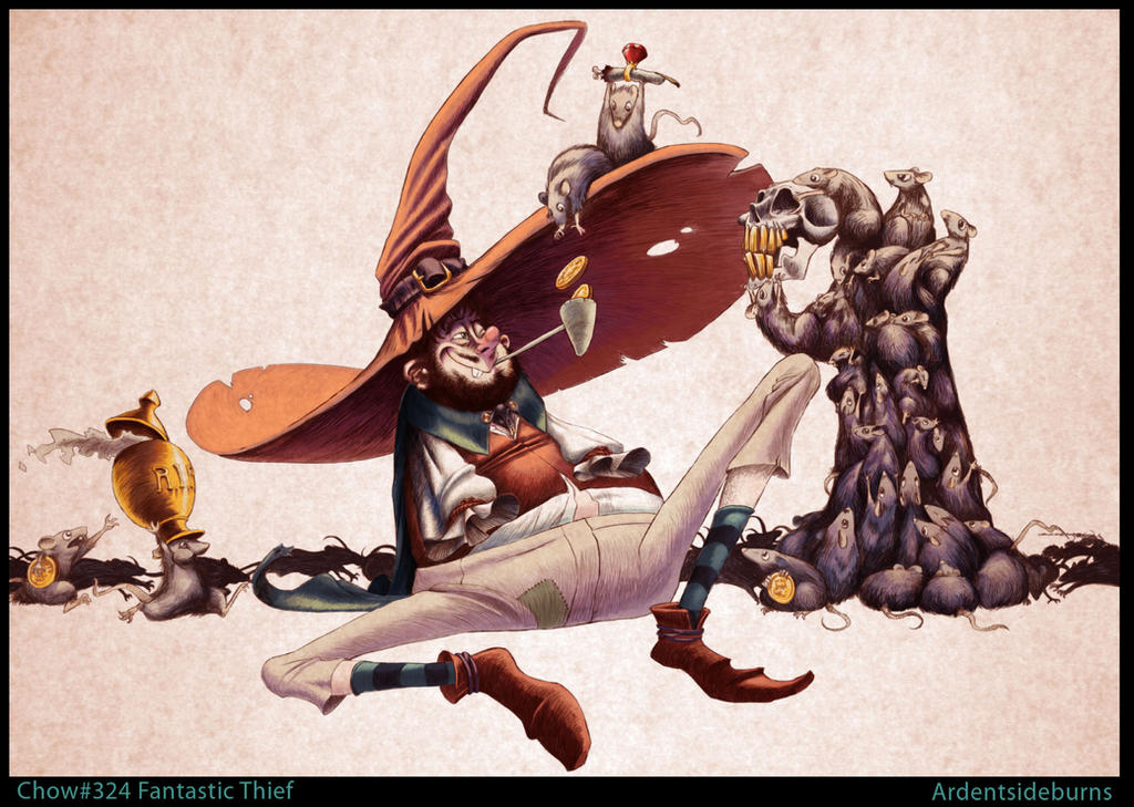 Rat thief by aalbaich