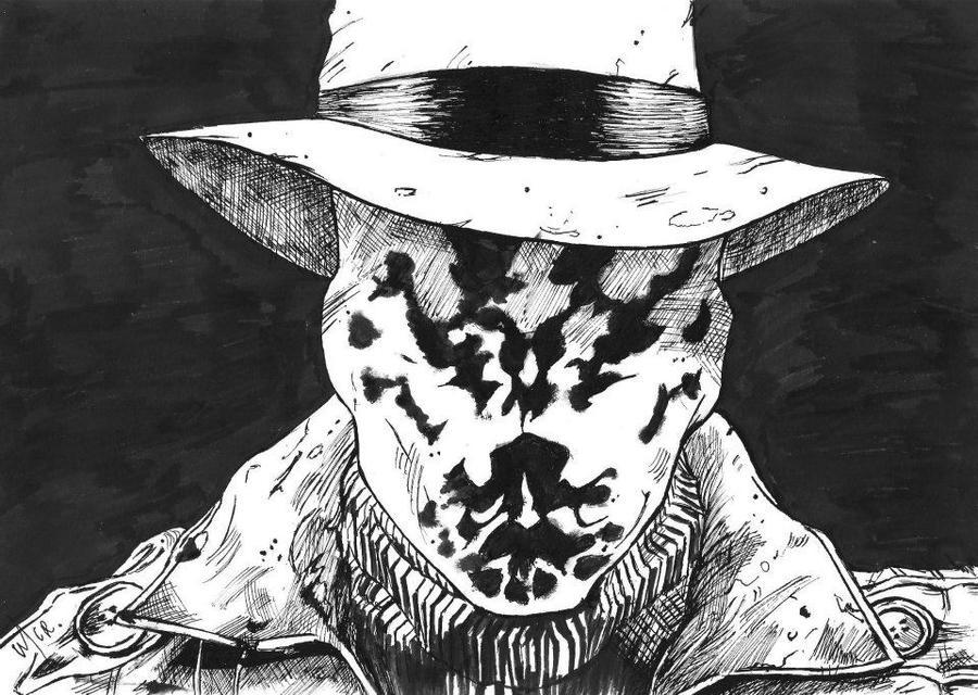 Rorschach by KamiUsagi