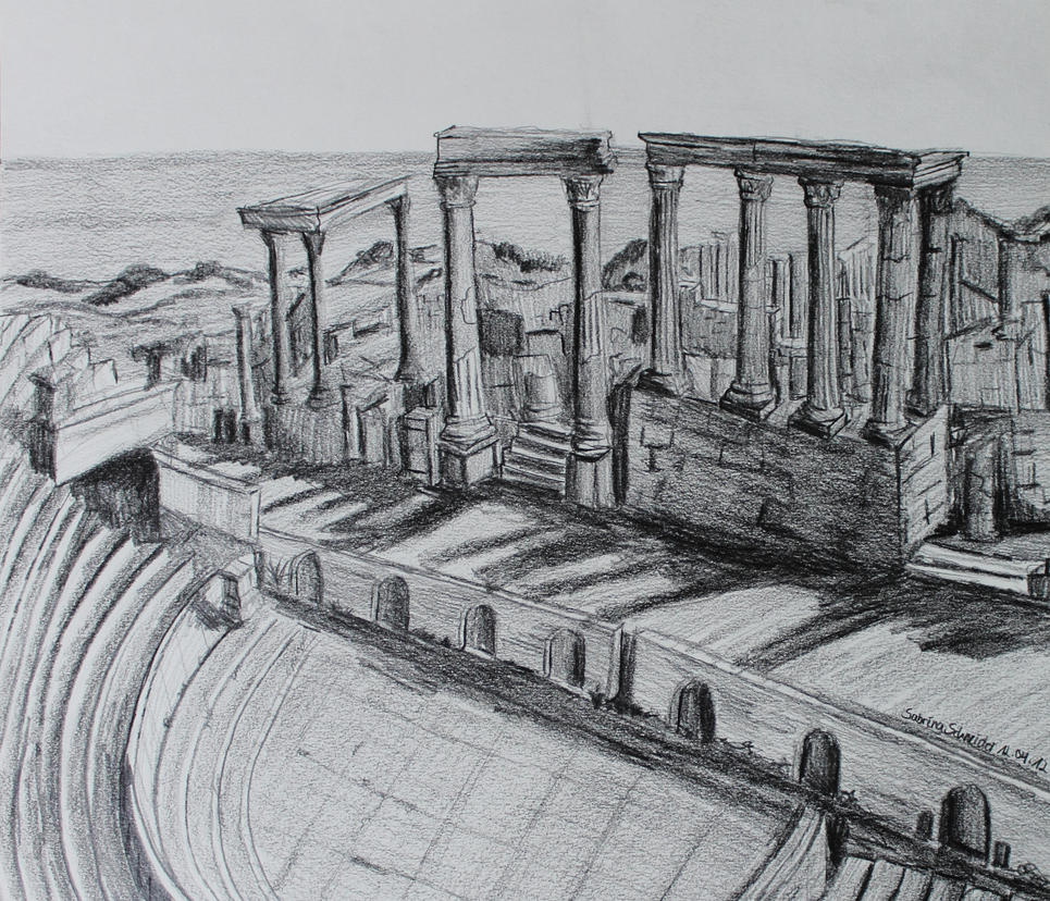 Theatre Leptis Magna by Milana87