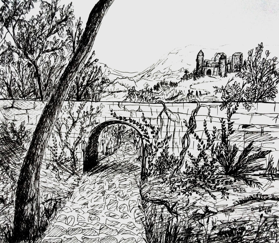 The path - Sketch by Milana87