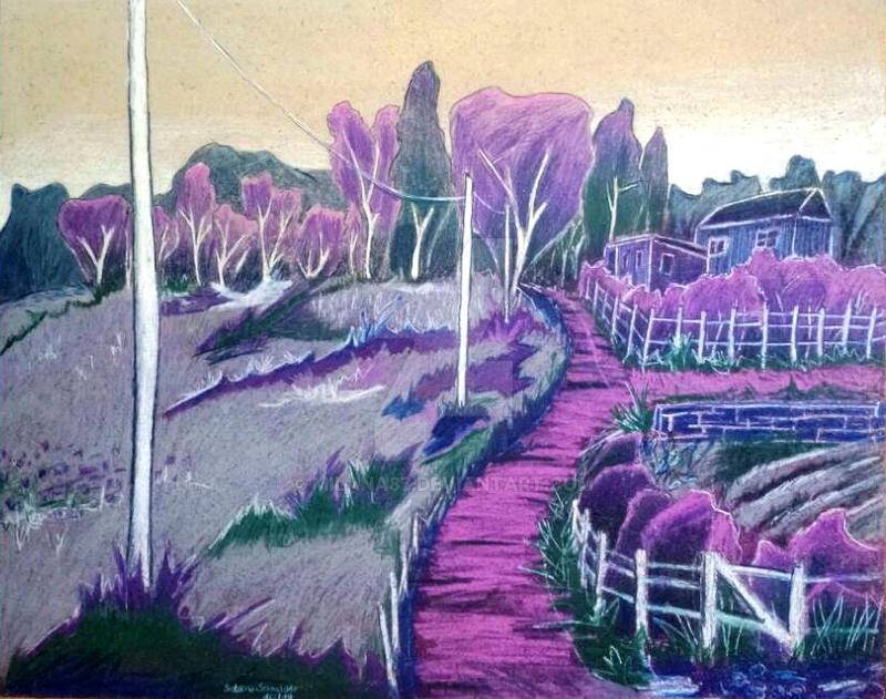 Purple impressions by Milana87