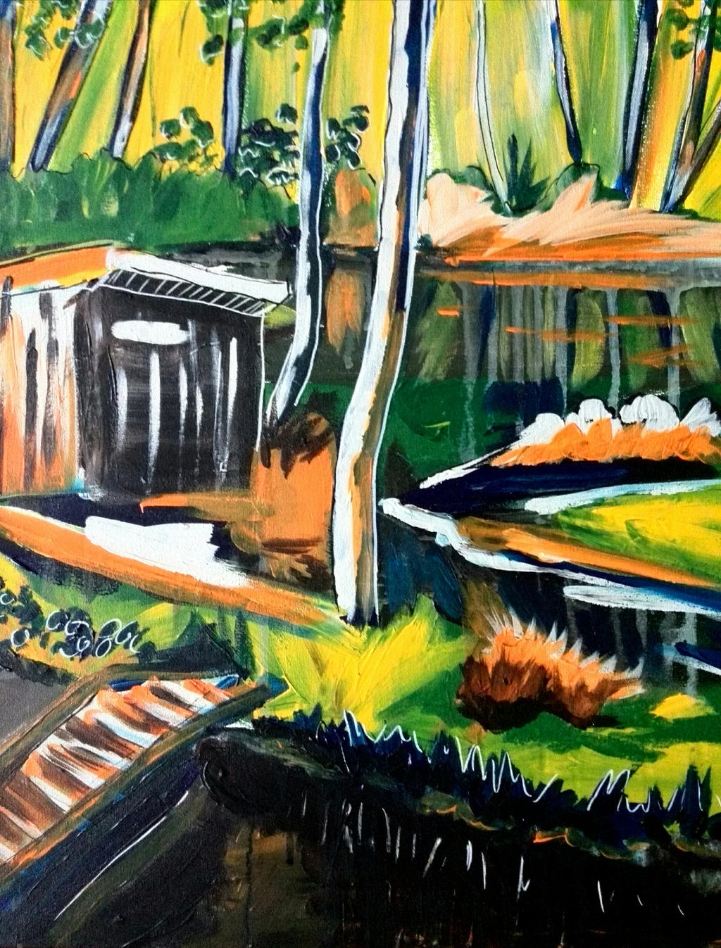 Fishpond by Milana87