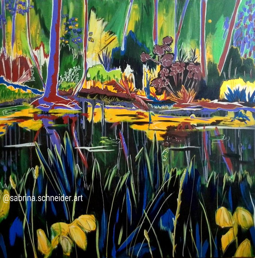 Pond by Milana87