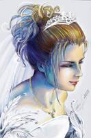 Yuna Wedding by candybg