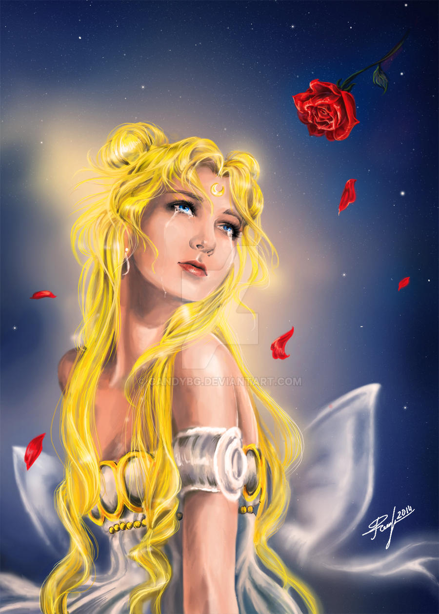 Princess Serenity - Moon Rose by candybg