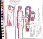 Rapunzel Sketchpage