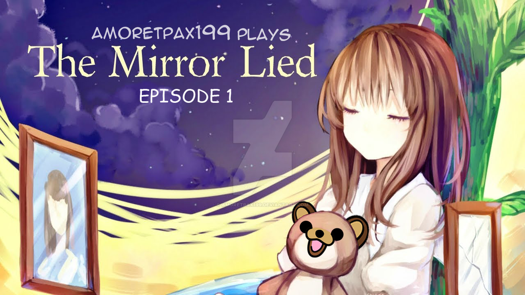 The Mirror Lied Thumbnail for YouTube by amoretpax199 on DeviantArt