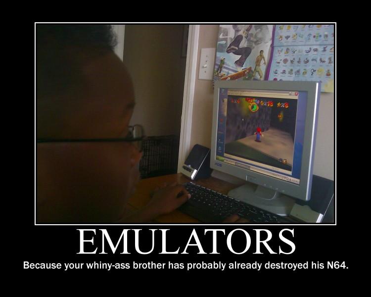 Emulators -demotivation- by Dragunov-EX