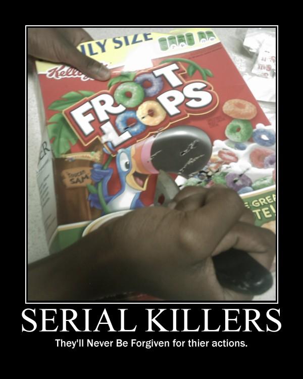 Serial Killers -demotivation- by Dragunov-EX