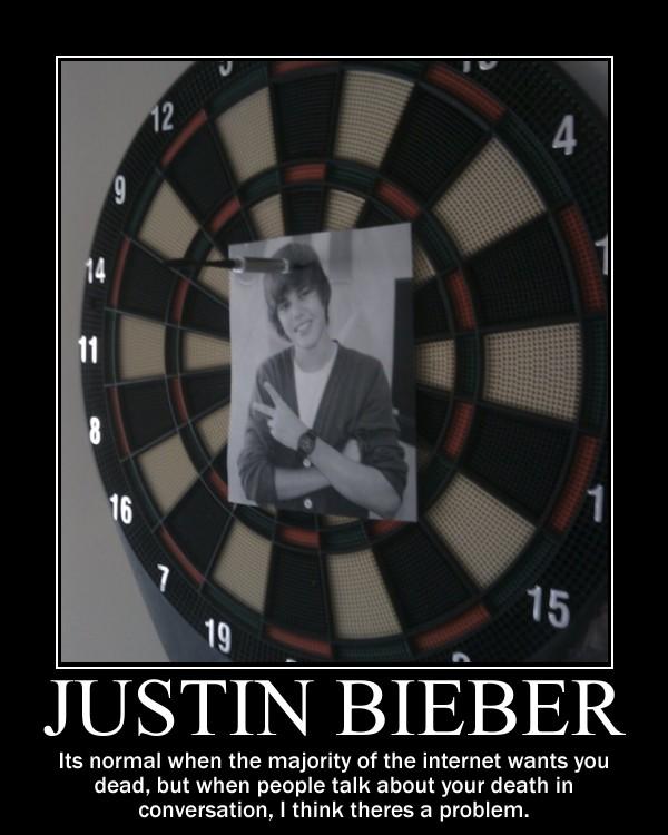 Justin Bieber -Demotivation- by Dragunov-EX