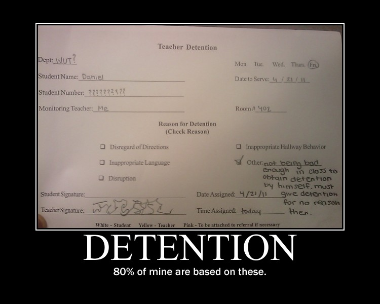 Detention -demotivation- by Dragunov-EX