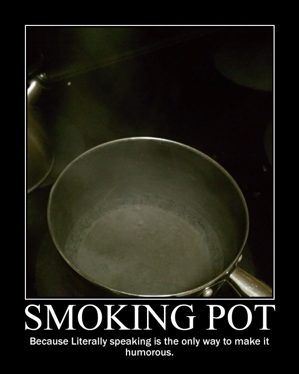Smoking pot  -demotivation- by Dragunov-EX