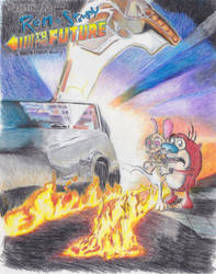 Ren and Stimpy to the Future by metalliphil