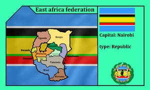 East african federation (mapping)