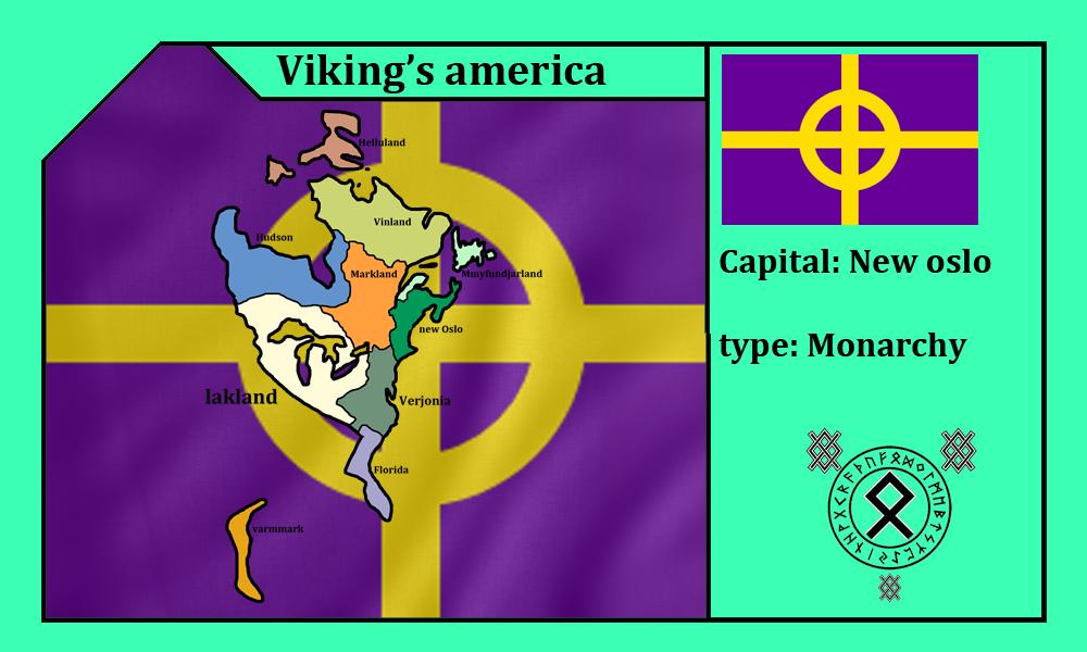 Vikings's america (mapping)