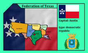 the Great federation of Texas (mapping)