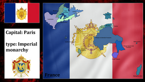 French empire endure (mapping)
