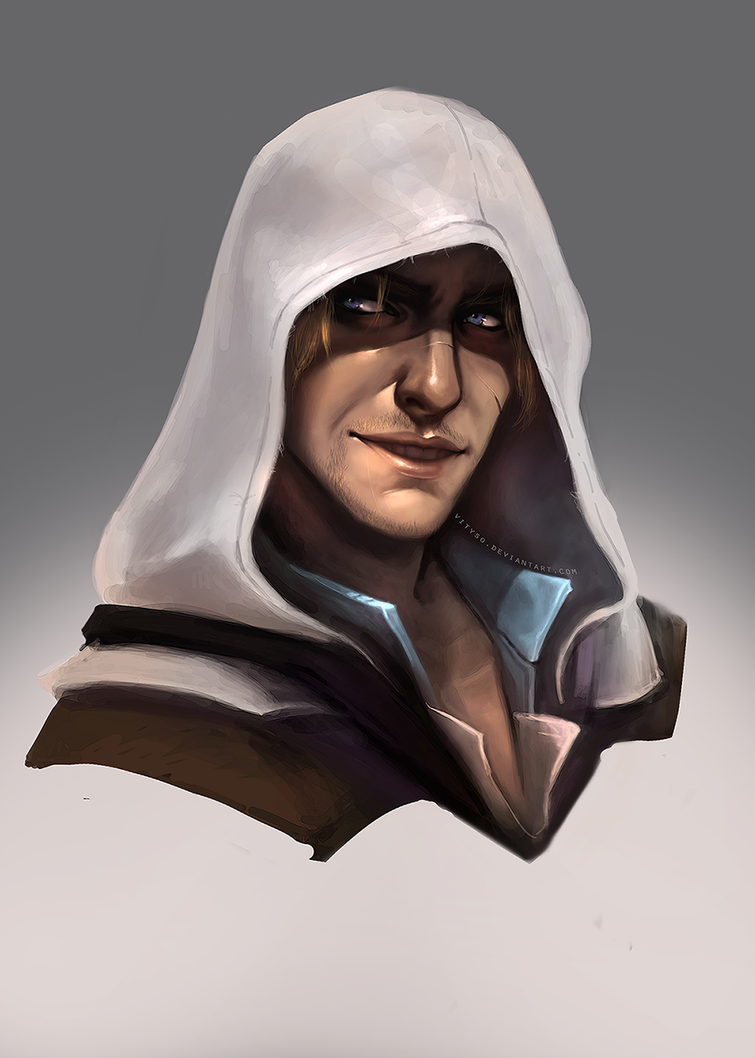 Edward Kenway_Assassin's Creed IV by vityso