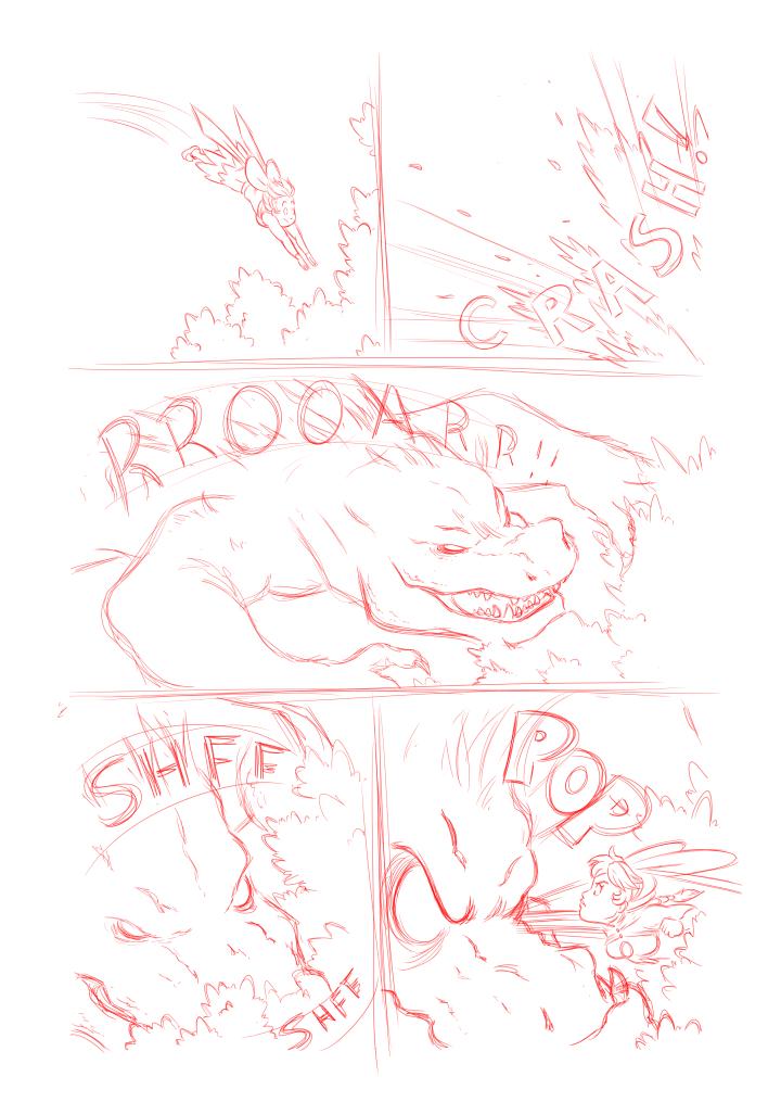 Comic Page by Marvelousboy
