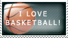 Basketball Stamp by Haydie