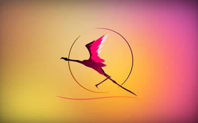 Gaia - Flamingo Sunset