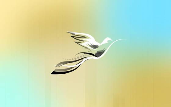 Humming bird by Golden-Ribbon