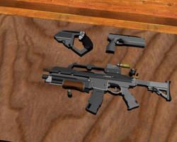 Guns by xenoside