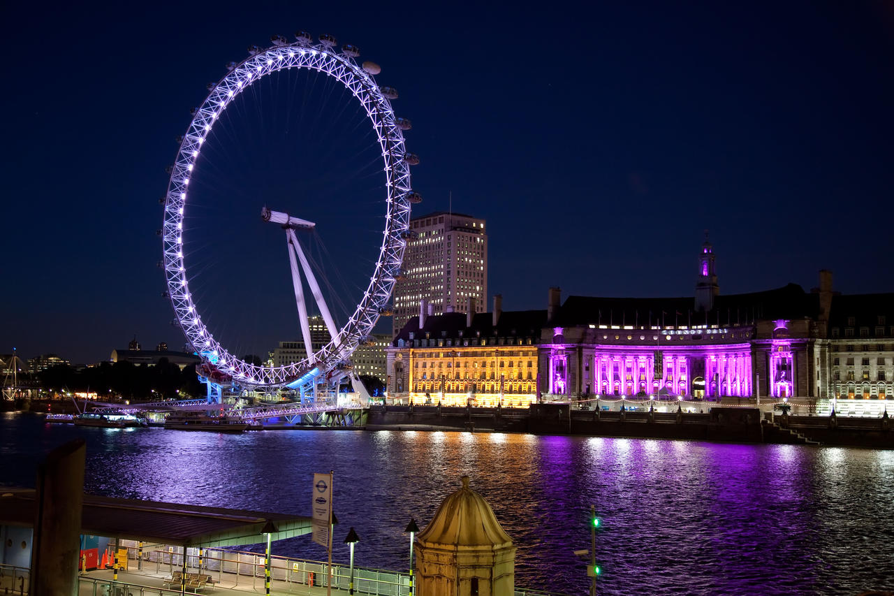 london eye by night - photo #22