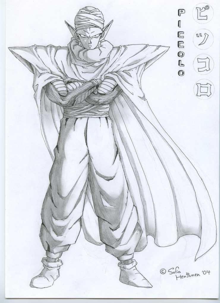 Piccolo by DragonBall-fan on DeviantArt