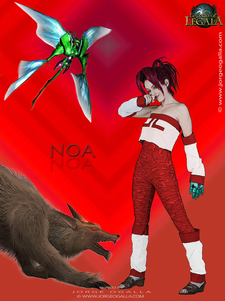 Noa Legend of Legaia by Lady-Vudu-doll