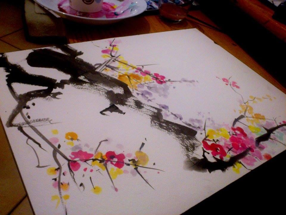 artwork sumie by Lady-Vudu-doll