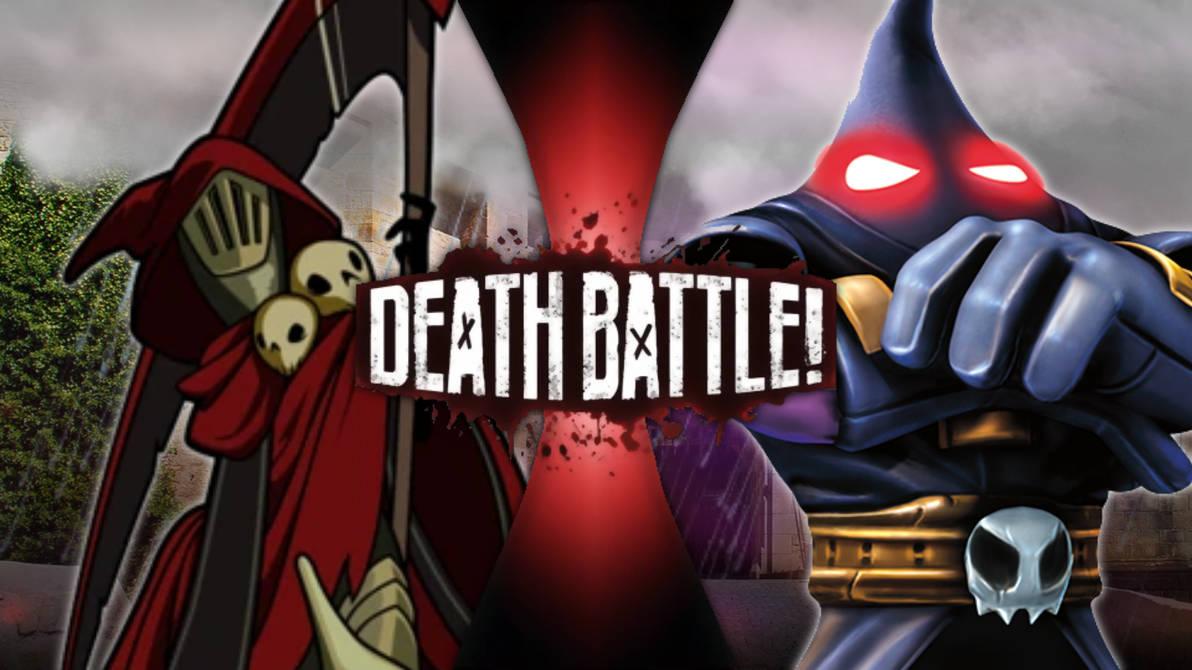 Specter Knight VS Hood Sickle