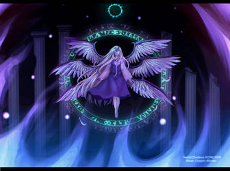 Touhou Challenge #9 - Sariel by Cryptic-Mystic