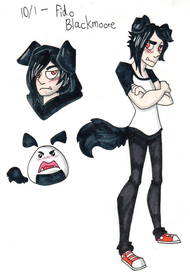 OC October Day 1: Fido Blackmoore by CopperSpy