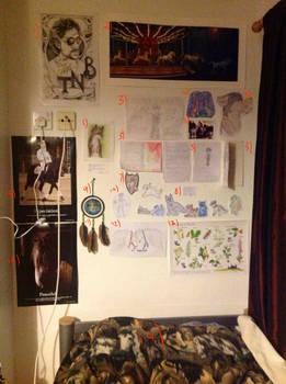 -: My wall of stuff :-