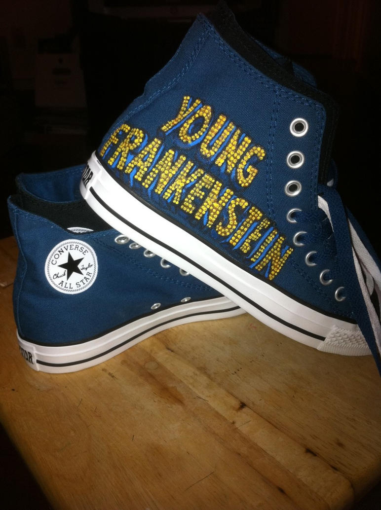 Young Frankenstein Converse by YoungFronkensteen